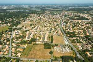 Vue aérienne Basse-Goulaine